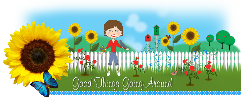 Good Things Going Around by Lisa Desatnik