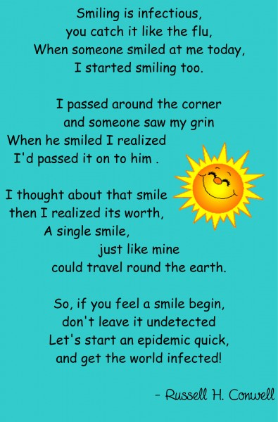 Image result for smile poem