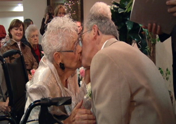 This 96 year old woman got married