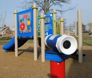 accessible playground at Redwood