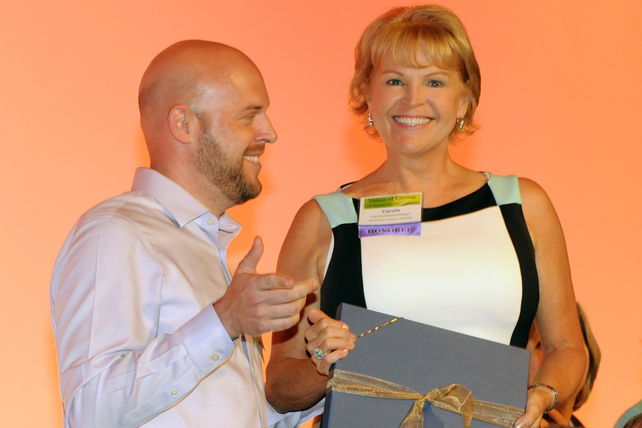 Cincinnati Area Philanthropist Carole Blackschleger was honored for her planned gift to the American Cancer Society