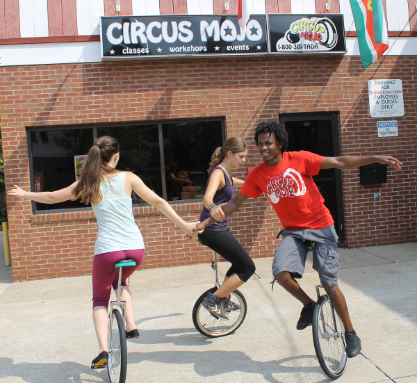 Social Circus Foundation collecting unicycles in Greater Cincinnati