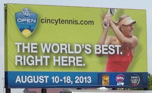 Western & Southern Open tennis tournament in Mason