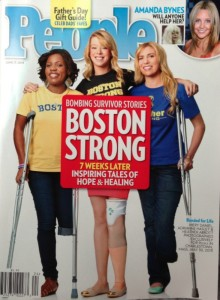 Mery Daniel and Boston Marathon Bombing Survivors