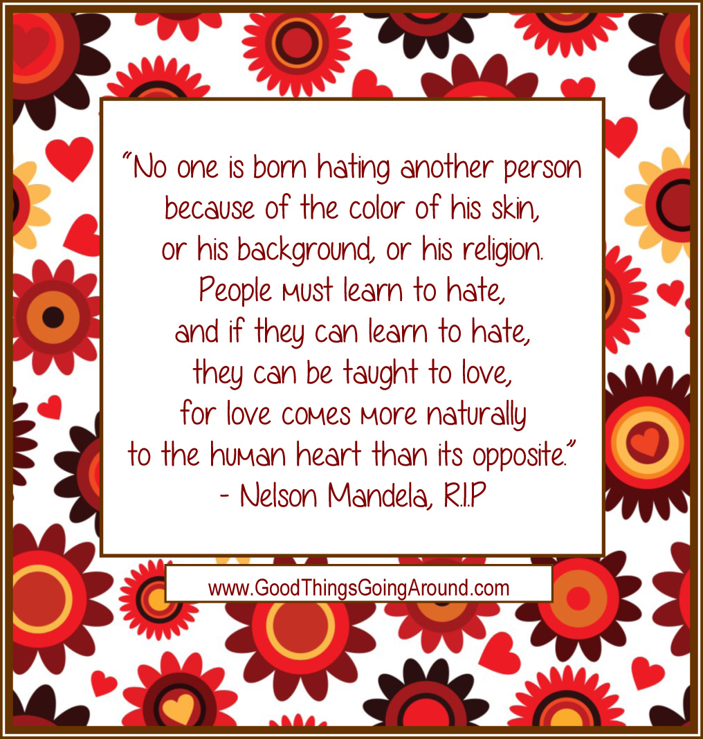 quote by Nelson Mandela on love