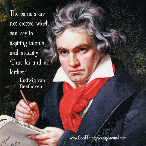 quote from Ludwig van Beethovan