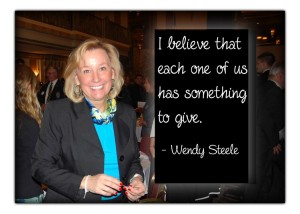 Cincinnati Rotary Club honored Wendy Steele