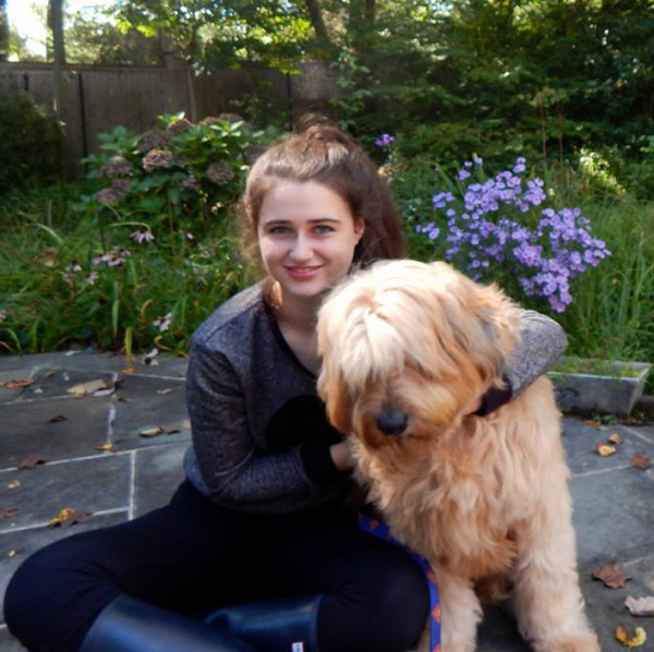 Annie Blumenfeld and Teddy