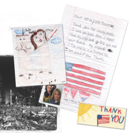 Dear Hero Collection at the 9/11 Memorial Museum in New York City