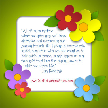 quote about mentoring by Lisa Desatnik