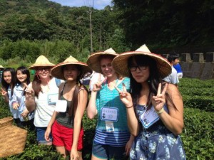 Indian Hill High School student Andrea Francisco visited Taiwan this summer