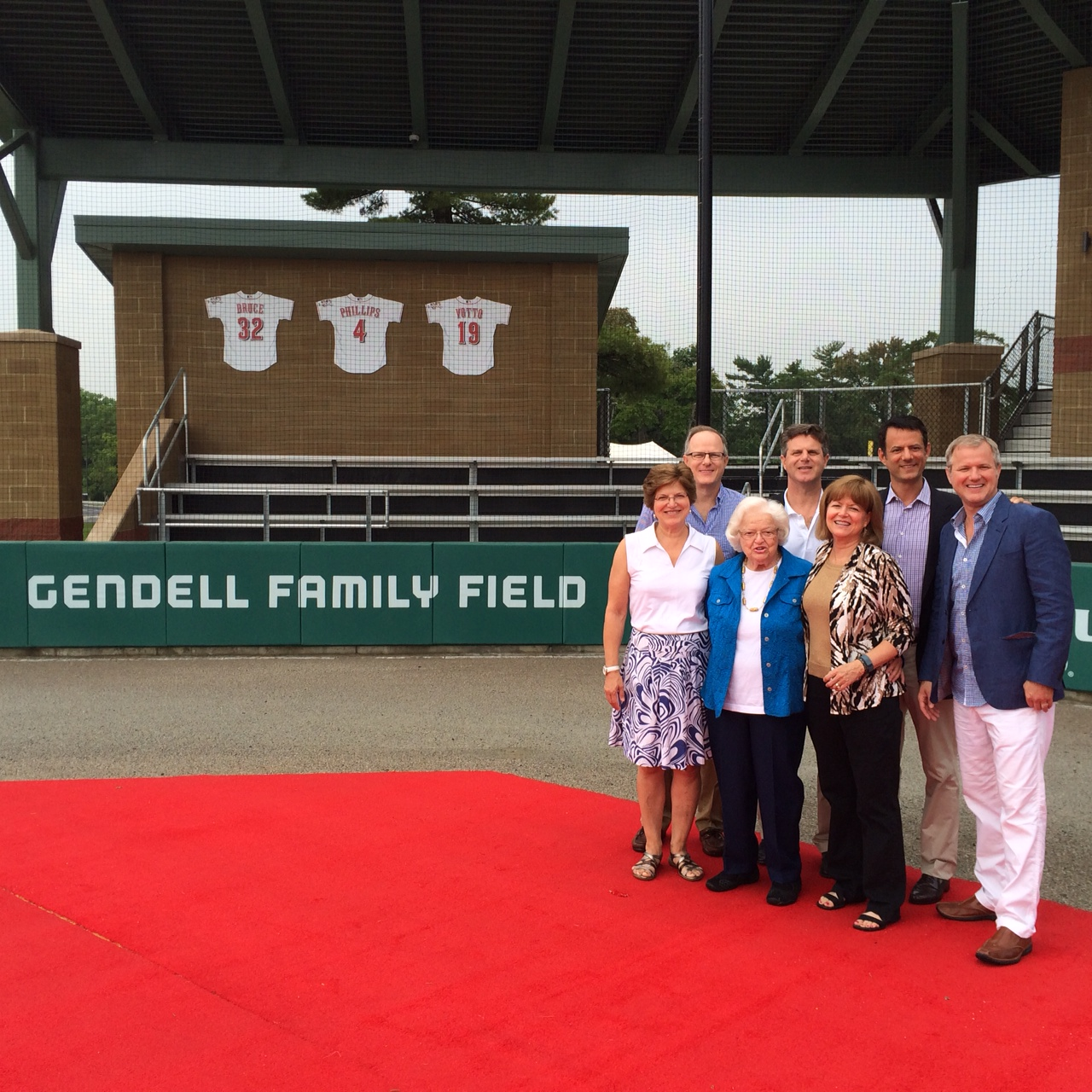 Gendell Family Field at the Cincinnati Reds Urban Youth Academy