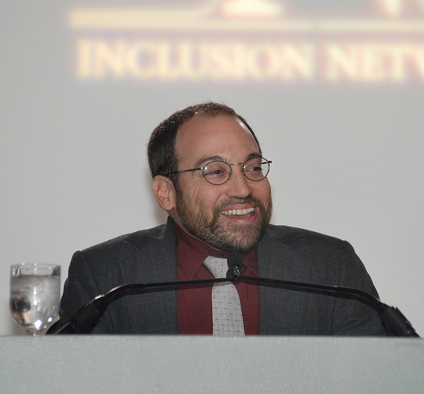 Actor Danny Woodburn spoke at the Inclusion Leadership Awards Event in Cincinnati