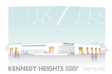 Kennedy Heights Arts Center is planning a ground breaking on new regional cultural arts center in the Cincinnati neighborhood