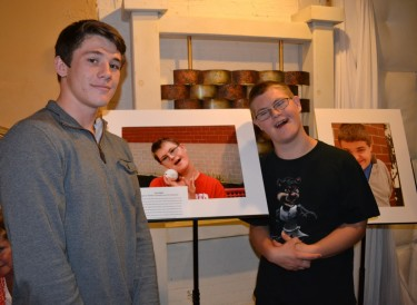 Milford High School students crated a photography exhibition called Different Lives Same Beauty after the Cincinnati ReelAbilities Film Festival brought Rick Guidotti there to speak.