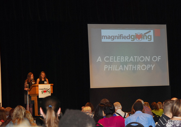 Cincinnati nonprofit Magnified Giving is honored