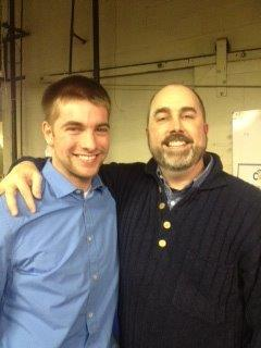 Patrick and his Cincinnati Youth Collaborative mentor Harry Blanton