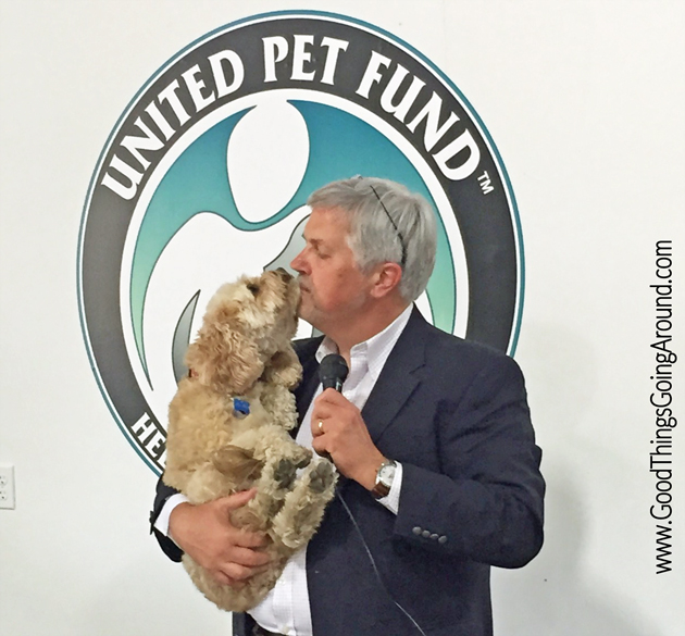 Dr. Zeke Zekoff at United Pet Fund Resource Center Grand Opening