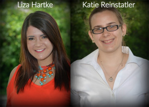 University of Cincinnati students Liza Hartke and Katie Reinstatler are Good Things Going Around interns