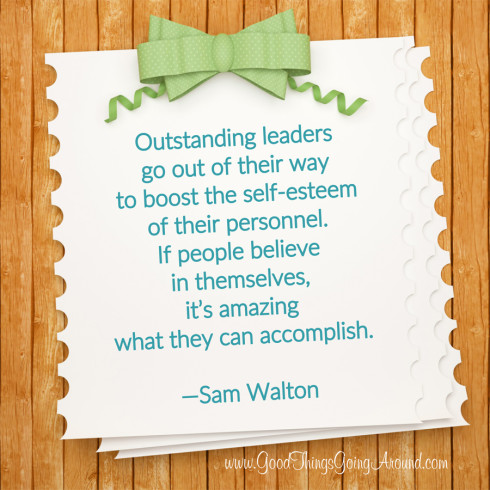 quote by Sam Walton about leadership