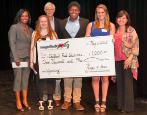 Wyoming High School students learned about philanthropy from Magnified Giving, a Cincinnati nonprofit organization