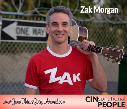 grammy nominated children's entertainer Zak Morgan