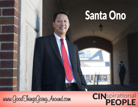 CINspirational People profile: University of Cincinnati President Santa Ono