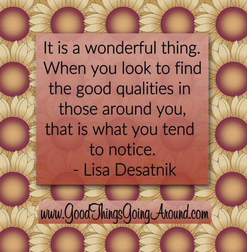 quote about appreciation by Lisa Desatnik