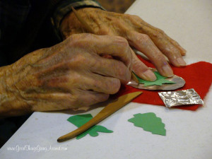 Creative Aging is a Cincinnati that contracts over 100 professional artists, performers and educators to enrich the lives of seniors
