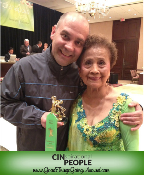Dr. Aurora Lira is a competitive ballroom dancer, having recently been named the CincySensational Award at the Cincinnati Ballroom Classic.