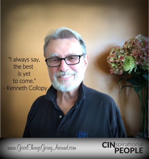 Kenneth Collopy, owner of Perfections Salon in Montgomery, is Our CINspirational People feature