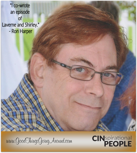Cincinnati voice over talent Ron Harper is featured in CINspirational People