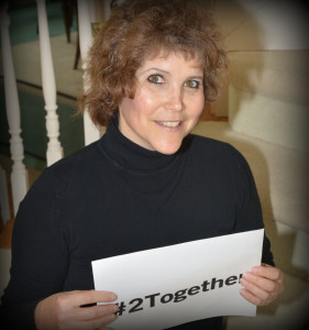 Lisa Desatnik supports the #2TogetherProject benefiting the Stephen Wampler Foundation Camp Wamp