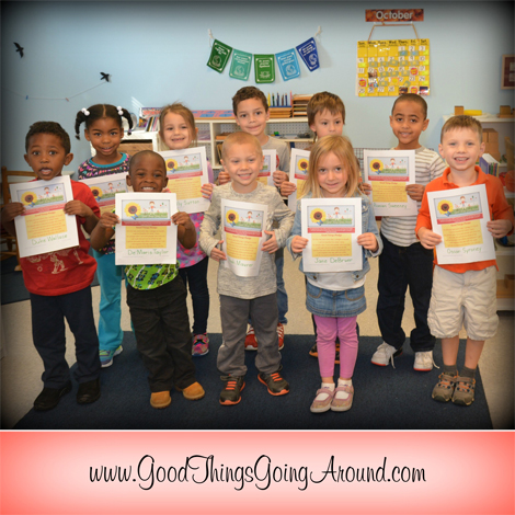 Kennedy Heights Montessori Center students took the Good Things Pledge