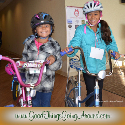 Cinci Holiday Bike Drive through Cincinnati nonprofit Queen City Bike donated bicycles to children
