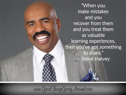 quote by Steve Harvey on overcoming adversity
