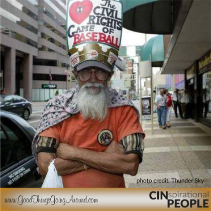 life lessons from Avtar Gill aka The Hat Man in Cincinnati