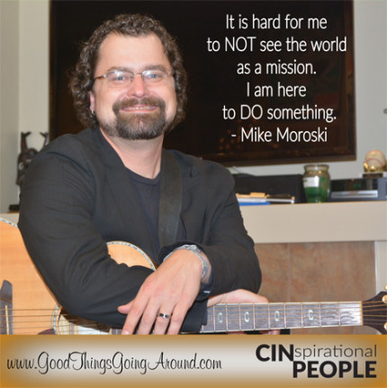 Mike Moroski, executive director of Cincinnati nonprofit UpSpring, talks about his passions and why he is an advocate for those experiencing homelessness