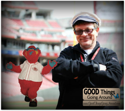 Nick St. Pierre was the Cincinnati Red's mascot Gapper