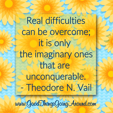 quote about overcoming obstacles by Theodore N. Vail