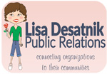 Lisa Desatnik Public Relations offering marketing, social media marketing, content and writing development
