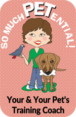 So Much PETential dog training and behavior consulting by Cincinnati certified dog trainer, Lisa Desatnik