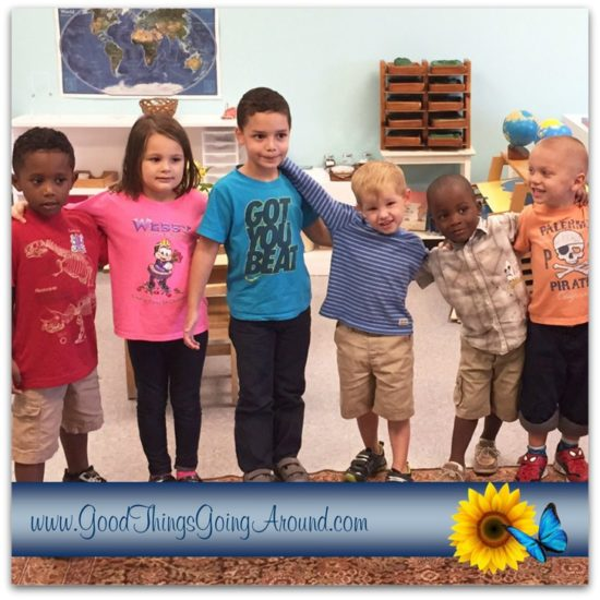 Cincinnati children from the Kennedy Heights Montessori Center talk about kindness