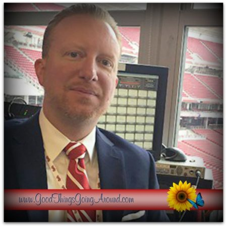 Aaron Sharpe is director of development at WNKU and deejay for the Cincinnati Reds. Learn about where his inspiration comes from.