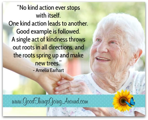 kindness quote by Amelia Earhart