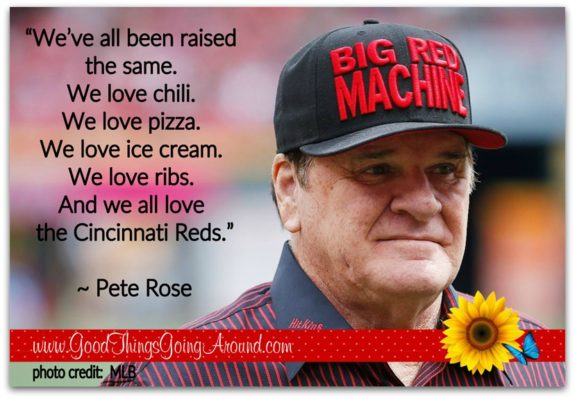 Pete Rose was honored by the Cincinnati Reds and his number was retired
