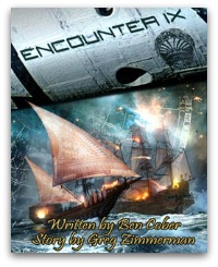 Encounter IX science fiction novel by Ben Cober and Greg Zimmerman