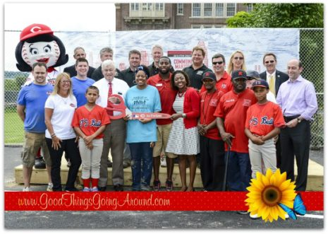 Procter & Gamble, Cincinnati Reds and Cincinnati Zoo chose Lower Price Hill as the winner of the 2016 Community Makeover; and will renovate Evans Playground.