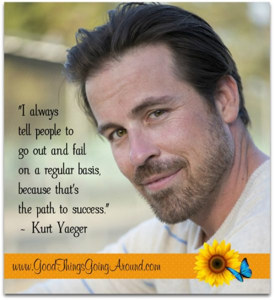 Kurt Yaeger quote about mistakes