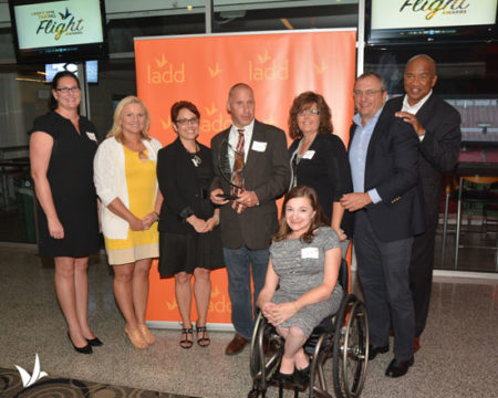 The Kroger Company was honored by Cincinnati nonprofit LADD with the Legacy Award for its leadership in integrating people with disabilities into the Cincinnati community.